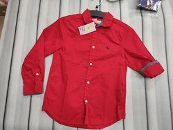 Красная рубашка для мальчика