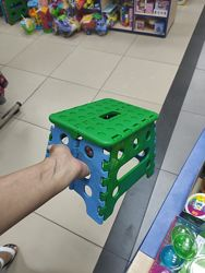 Раскладной стульчик подножка