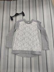Кофта реглан блузка для девочки