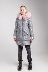Зимняя куртка парка - пальто для девочки