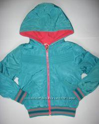 Ветровки, куртки двухсторонние для девочек