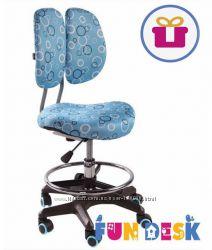 Детское кресло FunDesk SST6 Blue - лучший выбор для обычного стола