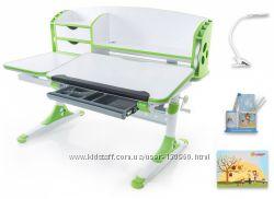 Стол детский Mealux Evo-Kids Aivengo L EVO-720 зеленая. Подарок Лампа