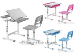 Детский стол парта и стул FunDesk Cantare для дома и школы. Скидка