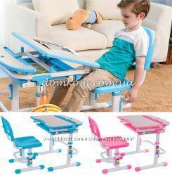 детский комплект стол парта и стул FunDesk Sorriso - Лампа в подарок. Скидк