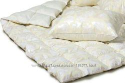 Пуховые и полупуховые одеяла, подушки  Экопух