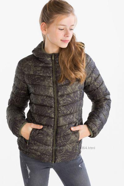 Новая стильная куртка р. 134 фирмы Here&There от C&A