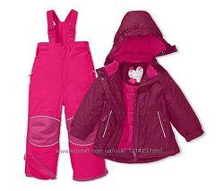 Акция ТСМ Tchibo зимний термо костюм 86-92см очень теплый комбинезон