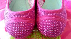 Нарядные розовые балетки ф. Arial р. 32