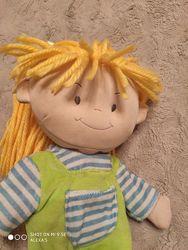 Большая мягкая текстильная кукла