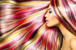 Окрашивание волос экранирование в подарок