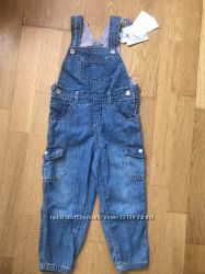 Новый джинсовый комбинезон Chicco