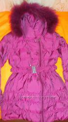 куртка- пуховик фирмы BELLINI рост 146-152