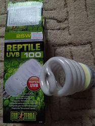 Лампа ультрофіолетова для тропічних рептилій