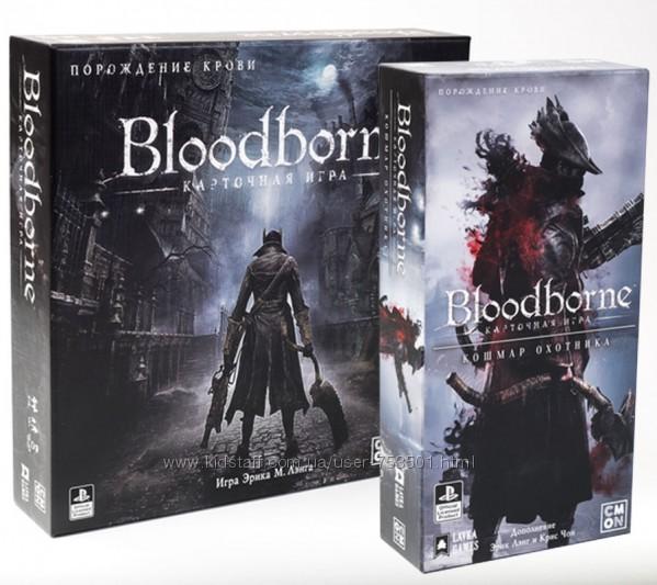 Настольная игра Bloodborne Карточная игра  дополнение Кошмар Охотника