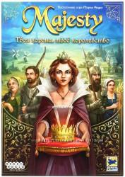 Настольная игра Majesty Твоя корона, твоё королевство