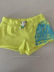 Ультрамодные неоновые шорты для девочки, Ralph Lauren, 3 года