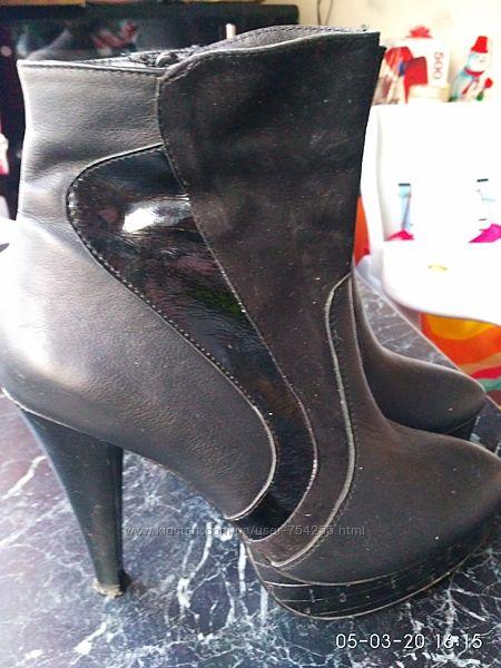 Демисезонные ботинки 37 размер