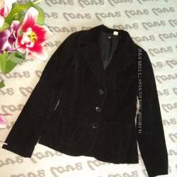 Вельветовый пиджак р. 34
