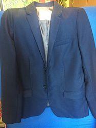 Школьный темно синий костюм zara 152 см рост 11-12 лет