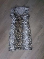 Sale. Тренд этого сезона платье с леопардовым принтом р. 44-46наш