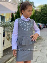 Платья, сарафаны для маленьких школьниц