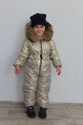 Детский теплый комбинезончик в наличии