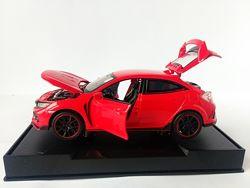 Машинки металл Honda Civic Type R Хонда свет, звук Автопром новинка