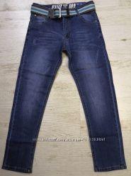 Джинсовые брюки для мальчиков Венгрия 98-164 рр