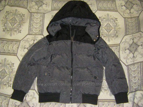 Демисезонная  куртка - трансформер, жилет Томми Хилфигер  рост 110-122