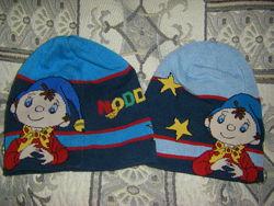 Распродажа Теплая шапка  с  тачками, хлопок-акрил, флис