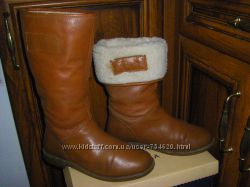 Теплые термосапожки  осень-зима 34- 36  размер