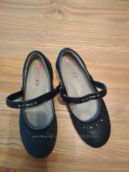 школьные туфельки на девочку