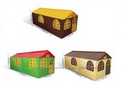 DOLONI-TOYS Будинок со шторками 0255023, домик, дом