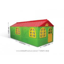 DOLONI-TOYS Будинок со шторками 02550&9223, домик, дом