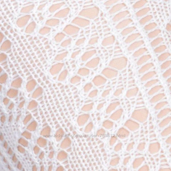 Melton Дания ажурные хлопковые колготы. рост 134-140. Топ качество