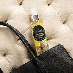 Yardley London парфюмированные спреи. Made in UK