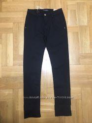 Отлично в школу. Котоновые брюки девочке р. 134-140-146-152-158-164, Венгрия