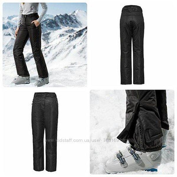 Зимние лыжные термо-брюки на тинсулейте штаны crivit