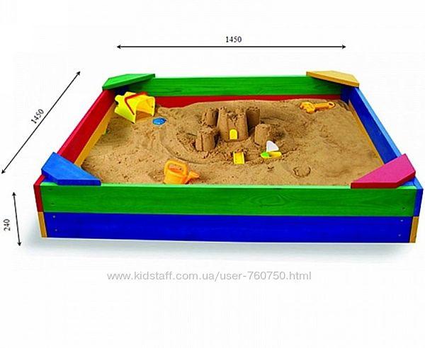 Деревянная песочница Sportbaby Песочница  1
