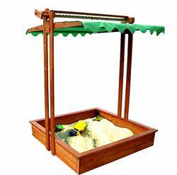Песочница деревянная с крышкой SportBaby Песочница - 5
