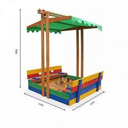 Песочница деревянная цветная SportBaby Песочница - 10