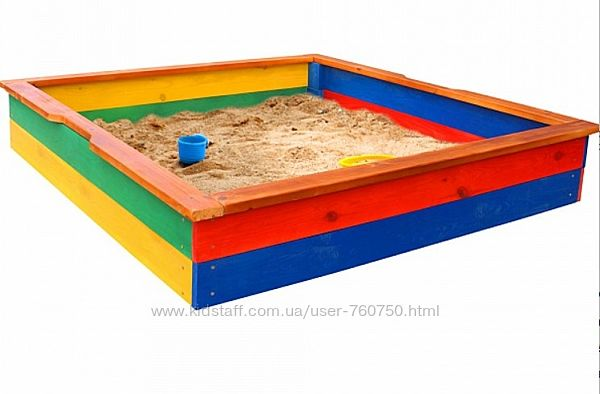 Деревянная песочница Sportbaby 25