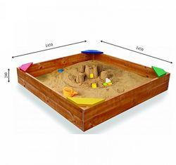 Деревянная песочница Sportbaby 9