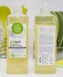 ЭКО средство для мытья посуды CHOICE без химии Чойс GREEN MAX