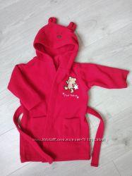 Теплий флісовий халат morris mouse для малюка 12-18 місяців