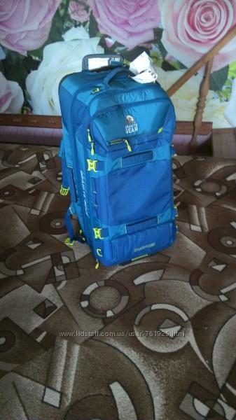 Дорожная сумка рюкзак на колесах GRANITE GEAR CROSS WHEELED TREK 131 BLue