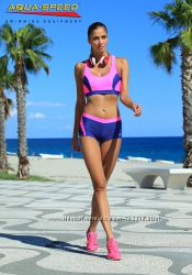 Женский спортивный раздельный купальник с шортами Польша для бассейна