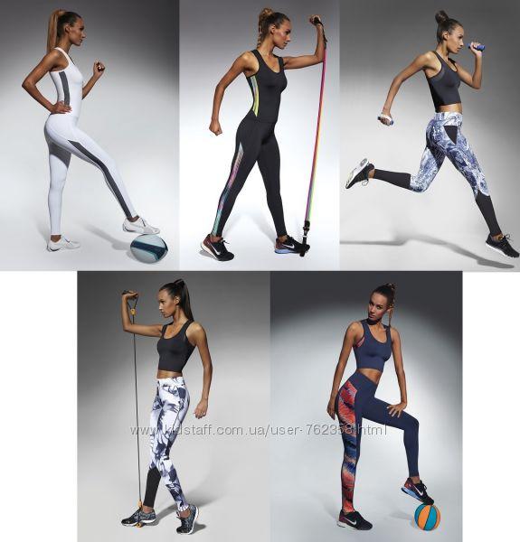 Женские лосины для фитнеса Bas Bleu Польша спортивные леггинсы