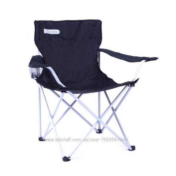 Туристическое раскладное кресло до 120 кг в чехле Spokey стул
